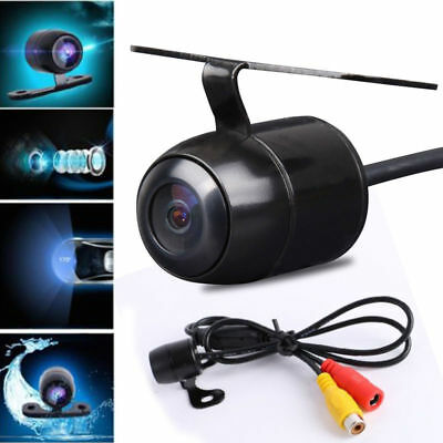 Wide Angle Reversing Parking Security Car Rear Front View Cam Camera Waterproof