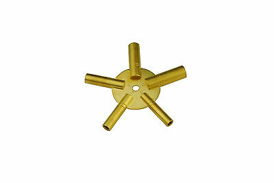 Proops Odd 5-13 Brass Clock Spider Keys Winding Keys Key J1468
