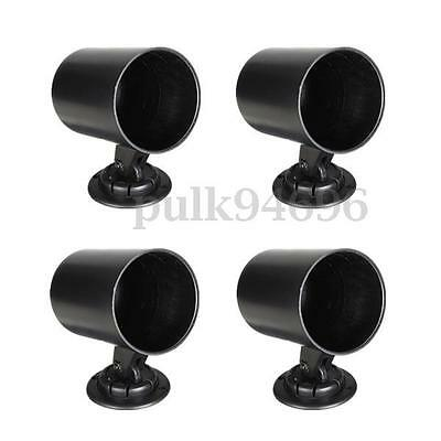 4x 2'' 52mm Universal ABS Plastic Hole Dash Gauge Meter Pod Mount Holder Cup