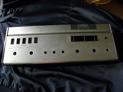 Revox A 77  ( first series)  Front cover with upper Alu flap cover