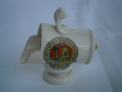 GEMMA Crested China Ornament - SCARBOROUGH -  Very good condition