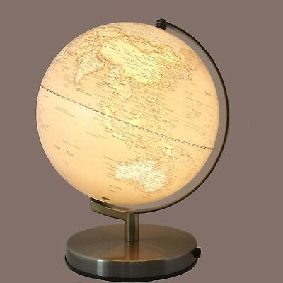 STUNNING QUALITY Antique Style World Globe LED Lamp Home Decor Wedding Gift