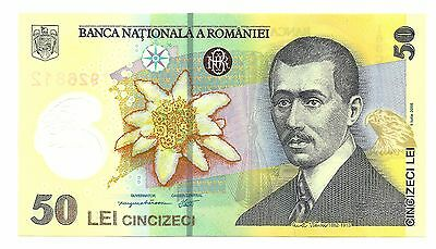 50 lei 2005 UNC Romania Banknote Low Shipping! Combine FREE!