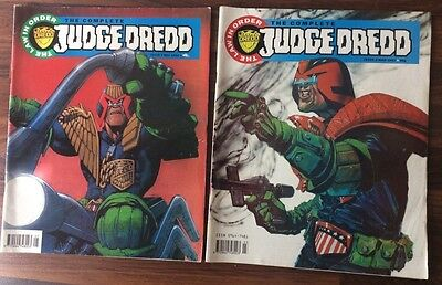 The COMPLETE JUDGE DREDD Comic - Nos 2 And 4