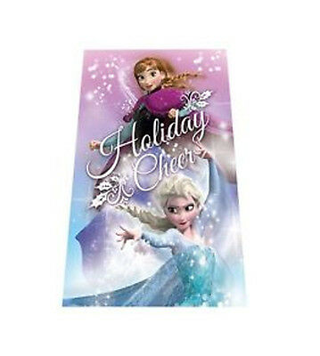 PLAID IN PILE 100x150cm SET INVERNO FROZEN ANNA ELSA IDEA REGALO
