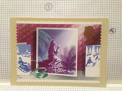 The Annunciation Christmas 1988  Royal Mail Stamp Picture Card Phq Postcard