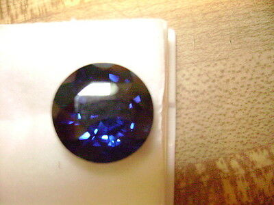 Lab Grown Blue Sapphire Round 12mm Lot of 5 Stones Ebays Best Deal