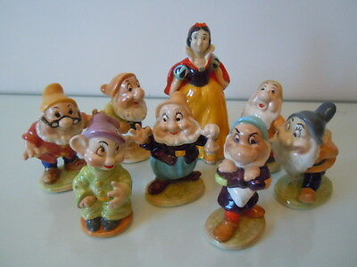 Beswick Disney Snow White  + the Seven Dwarfs set. Excellent. from 1954 to 1967.