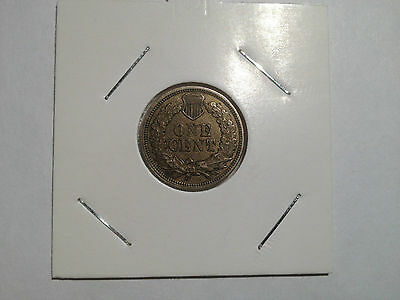 1863 Usa Small Cent Diamonds Visable Look At Pics  High Grade Almost Gold Look