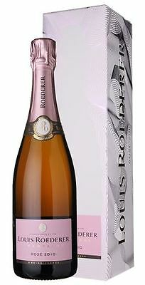 Louis Roederer Rose Vintage 2010 Champagne 75cl Graphic Gift Box