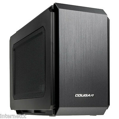 Cougar Qbx Pro Mini-Itx Cube Usb 3.0 Gaming Case - Watercooling Compatible