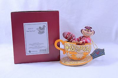 Cheshire Cat Mad Tea Party Disney Traditions Showcase Figure by Jim Shore