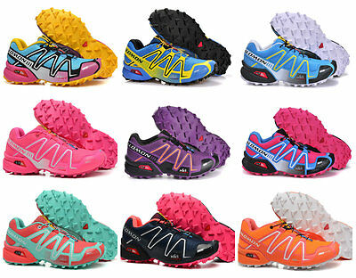 New Salomon Women's Sports Athletic Running Sneakers Outdoor Hiking Shoes