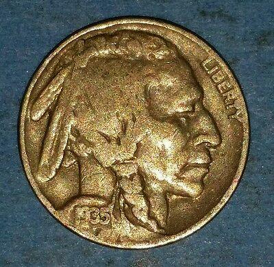 1935 Philadelphia Mint Buffalo Nickel   ID #51-22