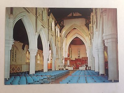 New Zealand The Interior Christchurch Cathedral Postcard