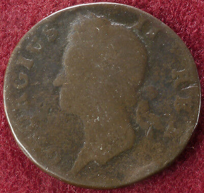 Ireland Halfpenny King George II (C2210)