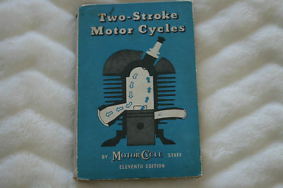 motorcycle book 'Two-Stroke Motor Cycles'