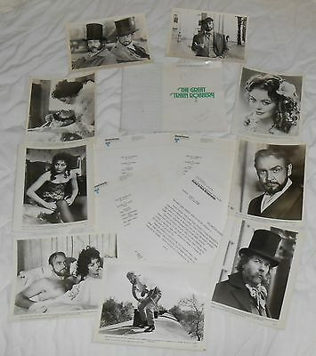 Old Vintage Movie Great Train Robbery Photo Press Kit Connery Lesley-Anne Down