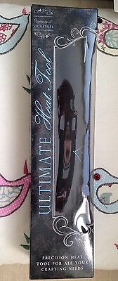 Papermania Signature Ultimate Heat Tool Black For Embossing NEW IN BOX