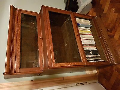 Globe Wernicke book case 3 sections antique vintage