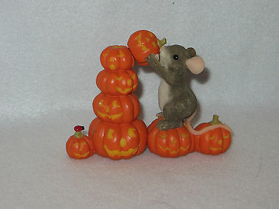 """stack-O-Lanterns"" Charming Tails Fitz & Floyd - Dean Griff - Mint"