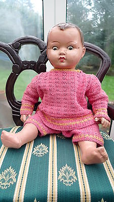 Lovely Original 1930's Composition Doll Good Condition