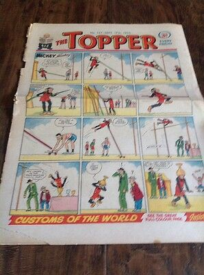 THE TOPPER Comic - Number 137 September 17th 1955
