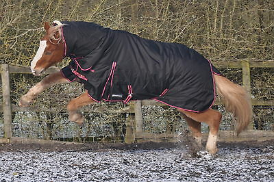 """Protuff Turnout rug 250g Combo 1200d Fixed neck top quality horse rug 6'3""""'"""