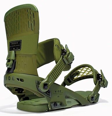 Ride Rodeo Snowboard Bindings, XL, Forest, 2016