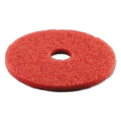 Boardwalk Standard 16-Inch Diameter Buffing Floor Pads, Red BWK4016RED New