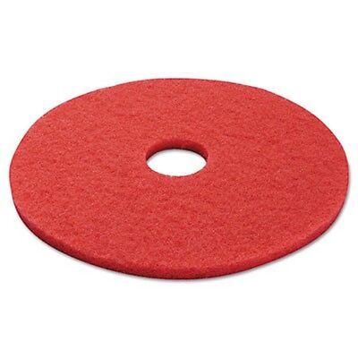 Boardwalk Standard 17-Inch Diameter Buffing Floor Pads, Red BWK4017RED New