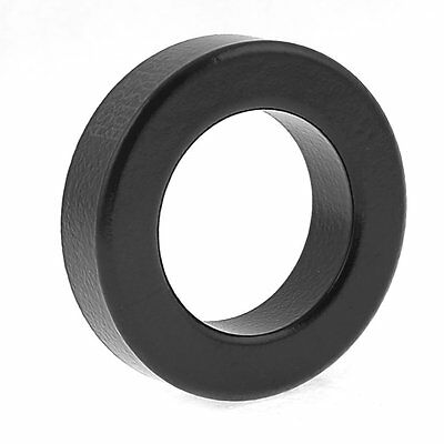 Transformer Choking Coil Parts Toroid Ferrite Core AS225-125A Black ED