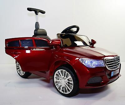 Ride On Toy Electric Car 12 Volts Remote Control Mercedes Style Red