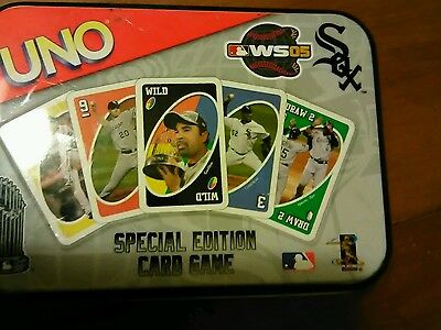 Uno Chicago White Sox Special Edition Games 2005 Cards Set