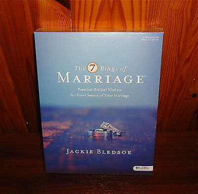 New, The 7 Rings Of Marriage Bible Study Book 2 Dvd's Leader Guide Lifeway