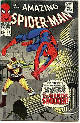 Amazing Spider-man #46 1st Shocker 5.0 to 5.5