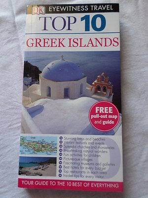 Top 10 Greek Islands Travel Map & Guide – Brand New