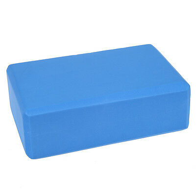 """9"""" X 6"""" X 3"""" Yoga Block Home Exercise Tool (blue) AD"""