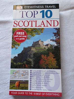 Top 10 Scotland Travel Map & Guide – Brand New
