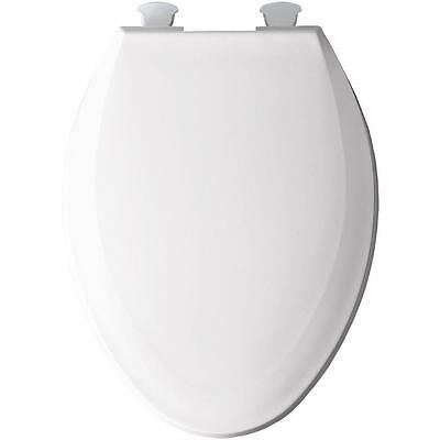 Bemis 529871 BEMIS 1100EC 000 Elongated Closed Front Toilet Seat in White