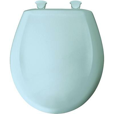 Bemis 496457 Round Closed Front Toilet Seat in Dresden Blue