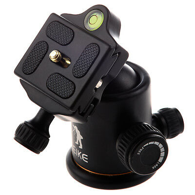 Beike Pro Metal Ball Head + Quick-release Plate for Tripod & DSLR Camera-Load ED