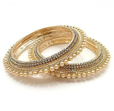 Stone Bangles Size:2.4 Indian Bollywood Traditional Bridal Party Wear Jewellery