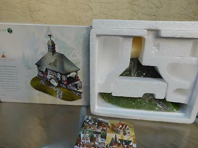 """Department Dept 56 NEW IN Box Seasons Bay """"Stillwaters Boathouse"""""""