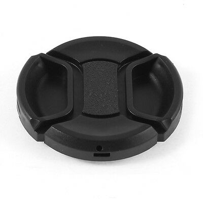 Universal 46mm Center Pinch Front Lens Cap for DSLR Camera AD