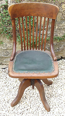 Antique Office Swivel Chair