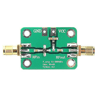 0.1-2000MHz LNA Broadband Module Receiver RF Wideband Amplifier 30dB low-noise