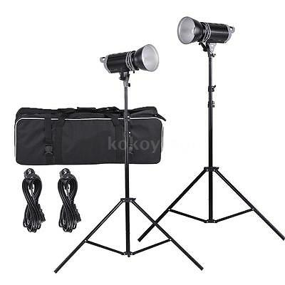 Pro 5600K 100W 9700Lm Studio Bowens LED lámpara kit Iluminación Flash Q2O4