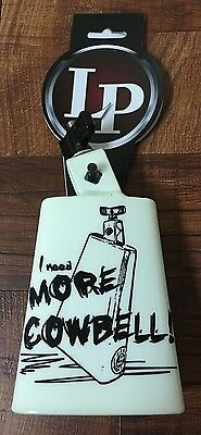 """Latin Percussion """"More Cowbell"""" Collectabell LLP204CMC. Cencerro Para Timbal."""
