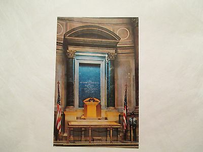 Declaration Independence Constitution Washington DC District Columbia Postcard